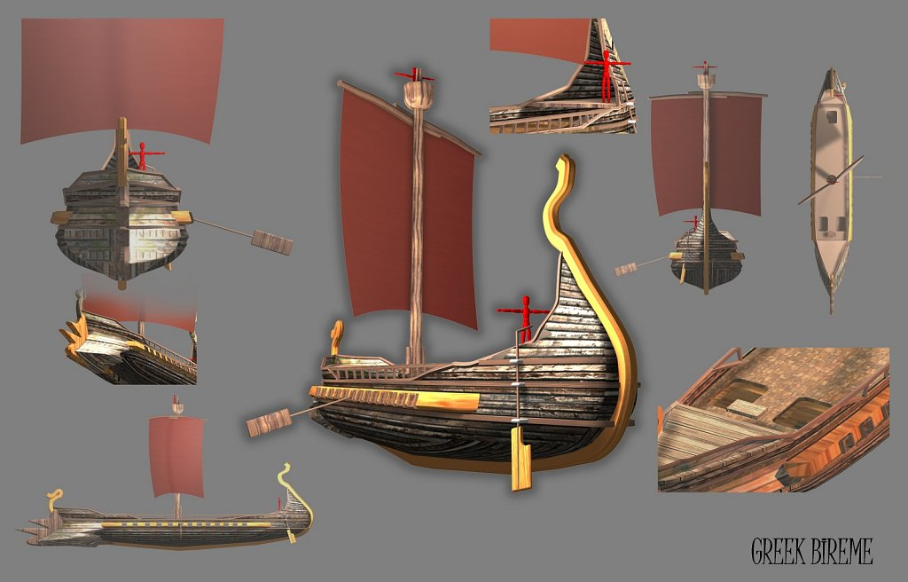 Greek Bireme