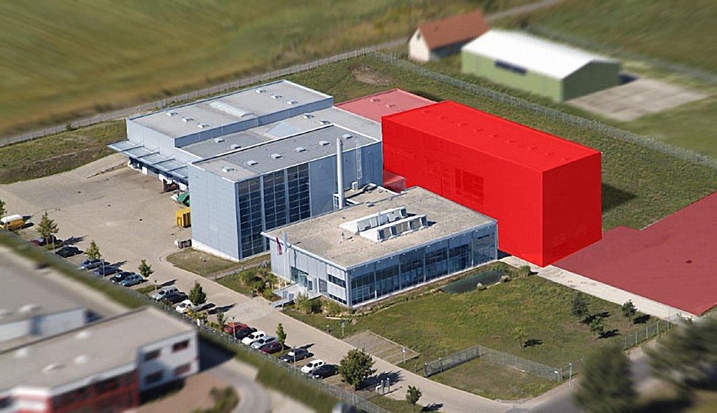 Druckerei Gebäude
